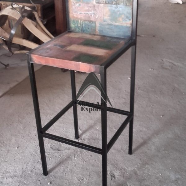 High Quality , Top Selling , 100 % Handmade Industrial Bar stool