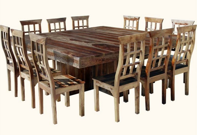 Retro Rosewood Dining Set Akku Art Exports - 84 inch dining room table