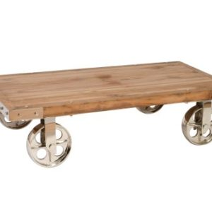 coffee table with wheels chart