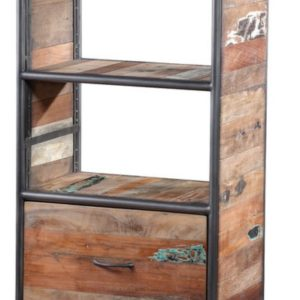 Reclaimed Wooden Storage Cabinet Small
