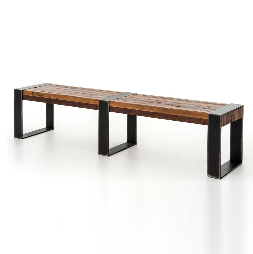 India modern industrial bench akku art exports for Modern wood furniture
