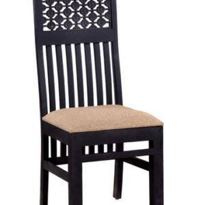 coffee color wall nut seesaham dining chair 1 size in inches H 43 x W 18 x D 18 ; Seating Height - 18