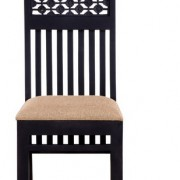 coffee color wall nut seesaham dining chair 2 size in inches