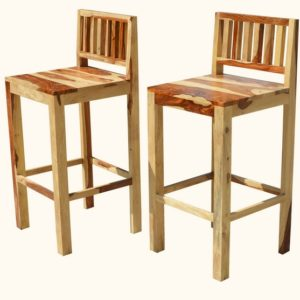 Wooden Bar Chairs , Rosewood Bar Chairs