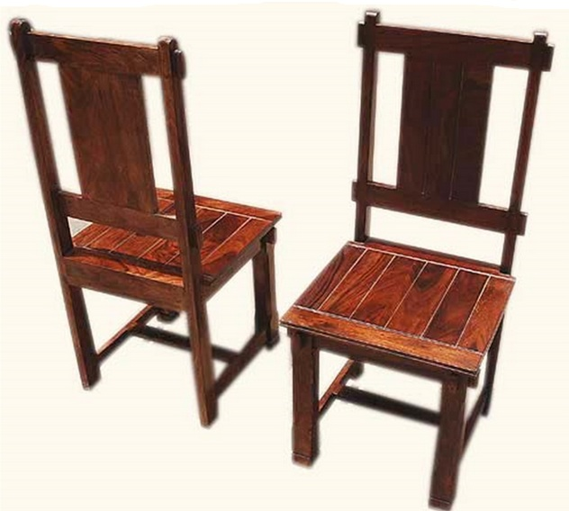 Vintage India Rosewood Dining Chair Room Furniture