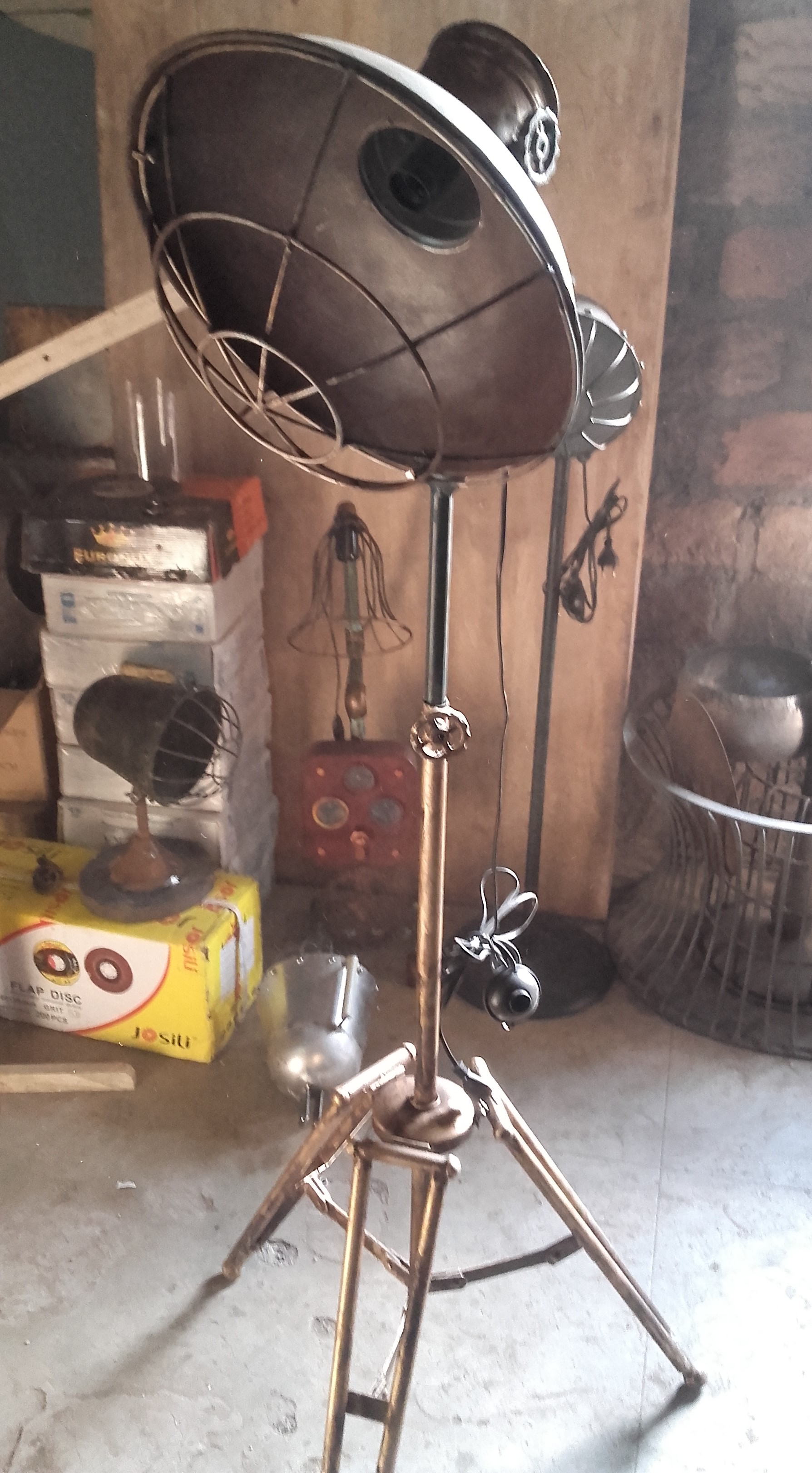 Industrial Floor Lamp Vintage Industrial Floor Lamp
