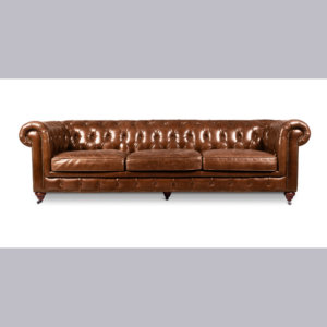 three seaters leather sofa
