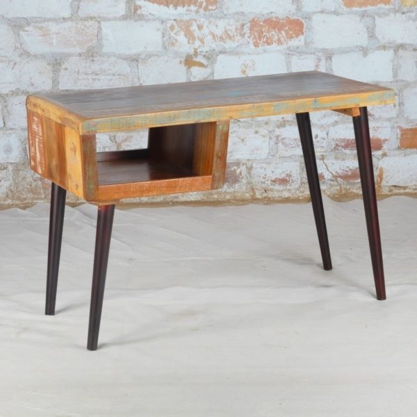 recycled wood desk