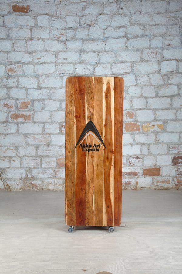 ecycled wood storage cabinet
