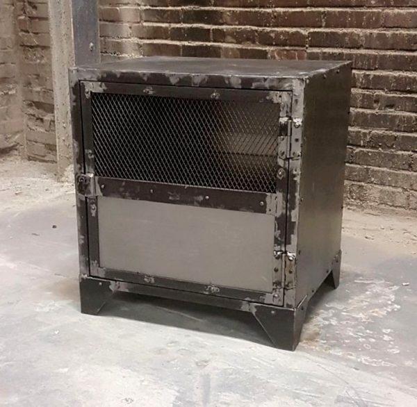 industrial bedside cabinet