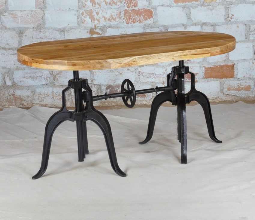 Adjustable Height Dining Table Crank Dining Table Akku Art Exports