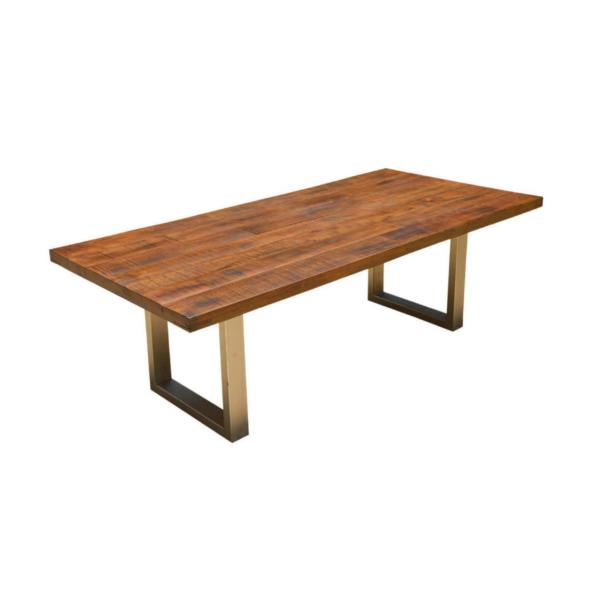 acacia wood dining tablw